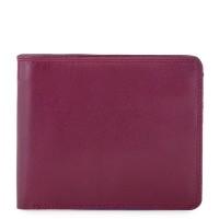 RFID Standard Men's Wallet with Coin Pocket Plum-Caribbean