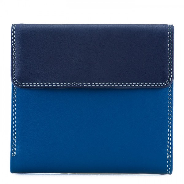 Tab and Flap Wallet Denim