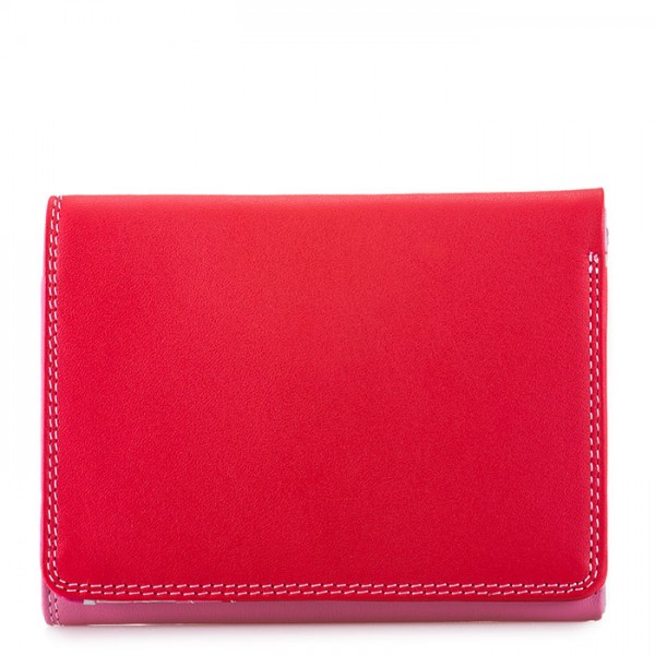 Small Tri-fold Wallet Ruby