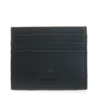 Double Sided Credit Card Holder Black