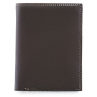 Men's Wallet w/Zip Section Mocha