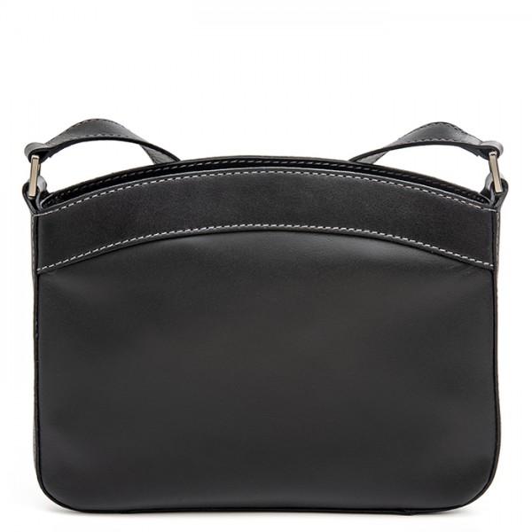 Siracusa Medium Shoulder Bag Black