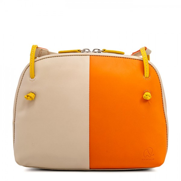 Rio Small Zip Top Orange Cream
