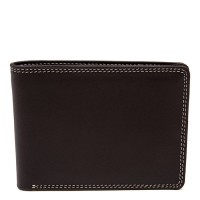 Men's Jeans Leather Wallet Mocha