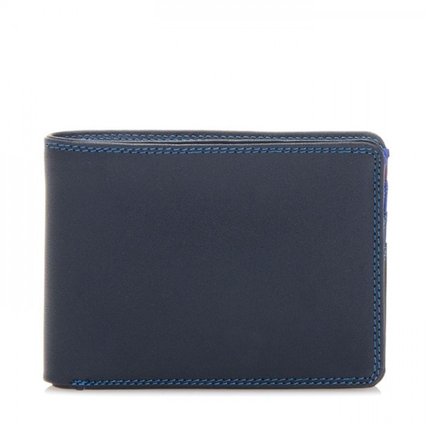Jeans Wallet with Inner Leaf Kingfisher