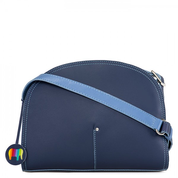 Bali Half Moon Bag Blue