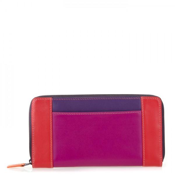Large Zip Wallet Sangria Multi