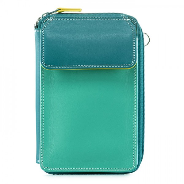 Zip Around Mega Purse Mint