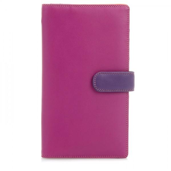 Large Tab Tri-fold Wallet Sangria Multi