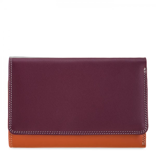 Medium Tri-fold Wallet Chianti