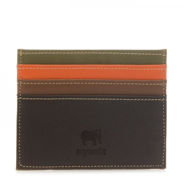 Double Sided Credit Card Holder Safari Multi