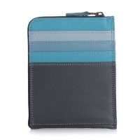 Zip Around CC Holder/Wallet Smokey Grey