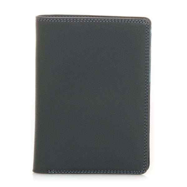Continental Wallet with C/C Pockets Smokey Grey