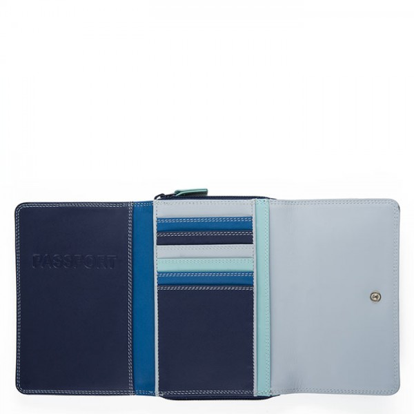 Passport Holder Wallet Denim