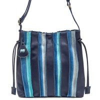 Laguna Drawstring Pouch Bag Denim