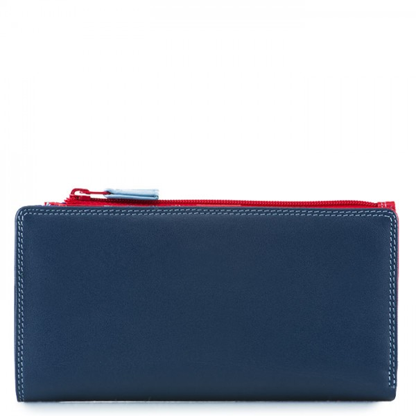 12 CC Zip Wallet Royal