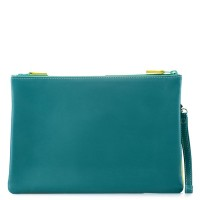 Medium Double Zip Pouch Mint