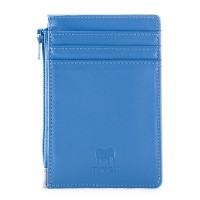 RFID Credit Card Holder with Coin Purse River Blue