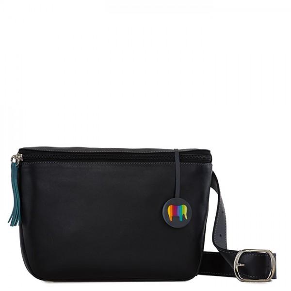 f321578951 Bruges Waist Bag Black Smokey Grey