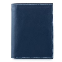 Men's Wallet w/Zip Section Royal