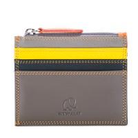 Credit Card Holder w/Zip Pocket Fumo