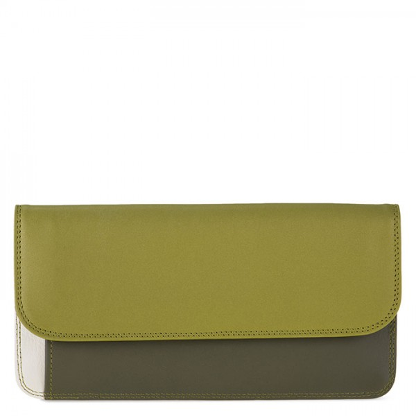 Simple Flapover Purse/Wallet Olive