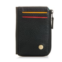 Panama Zip Wallet ID/Holder Black