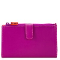 Double Zip Organiser Sangria Multi