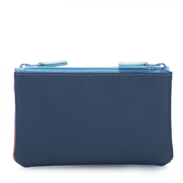 Double Zip Pouch Royal