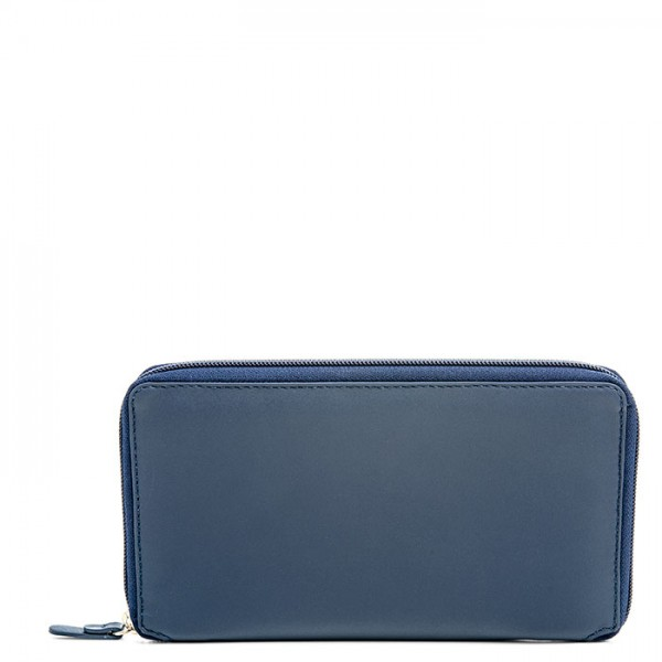 Zip Around Travel Wallet Organiser Royal