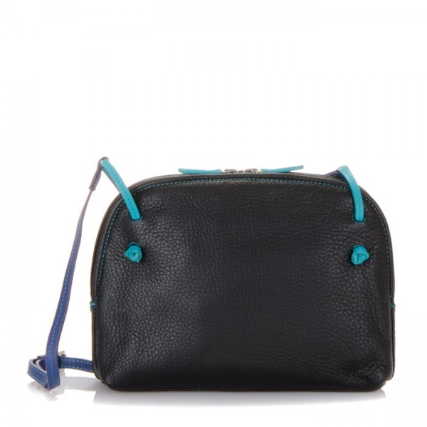 Borsa con zip superiore Rio piccola Black Pace