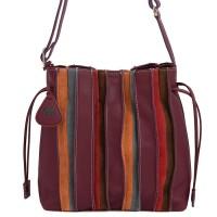 Laguna Drawstring Pouch Bag Chianti