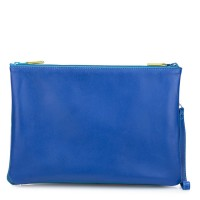 Medium Double Zip Pouch Seascape