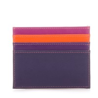 RFID Double Sided Credit Card Holder Sangria Multi