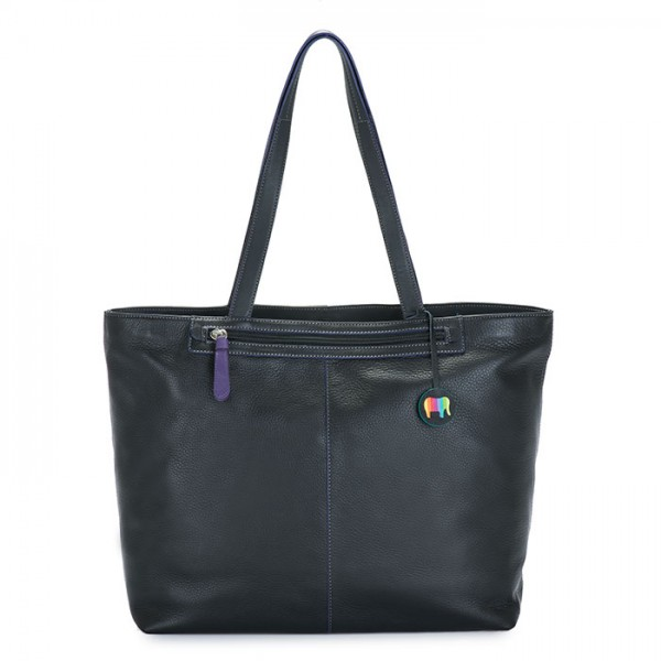 Naples Large Tote Black