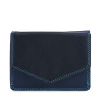 Tri-fold Leather Wallet Black Pace
