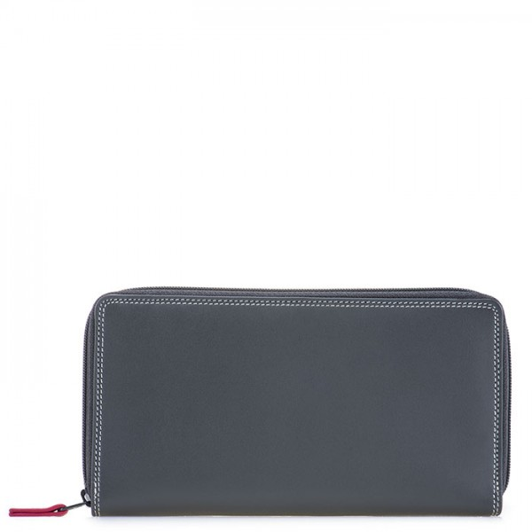 Large Double Zip Wallet Storm