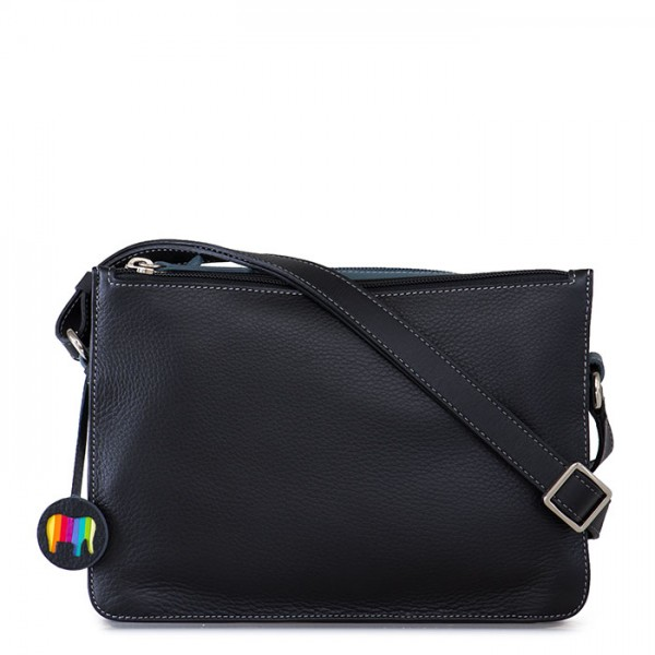 Rhodes Zip Top Crossbody Black