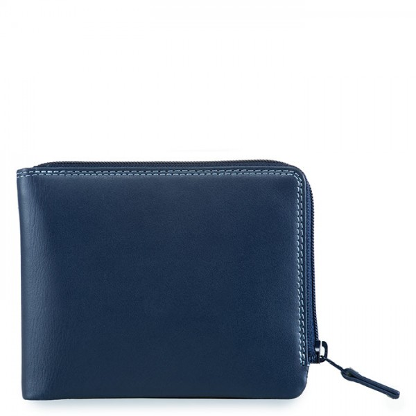 Zip Around Men's Wallet Royal