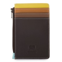 Credit Card Holder with Coin Purse Mocha
