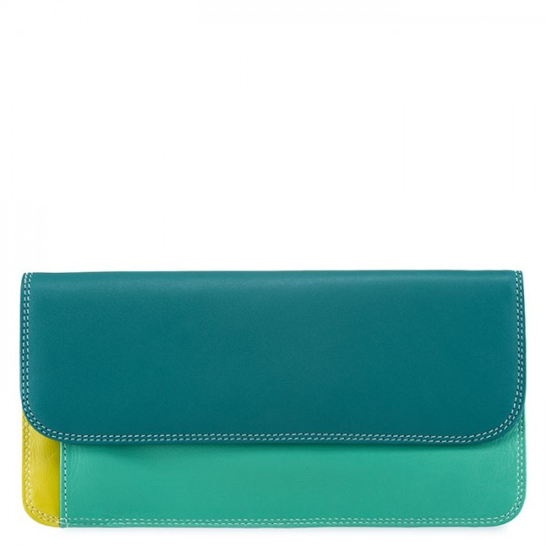 Simple Flapover Purse/Wallet Mint