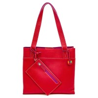 Borsa Shopper Vancouver Media Rosso
