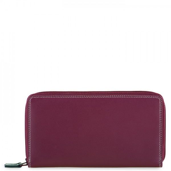 Large Double Zip Wallet Chianti