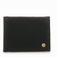 Panama Wallet with Coin Pocket Black