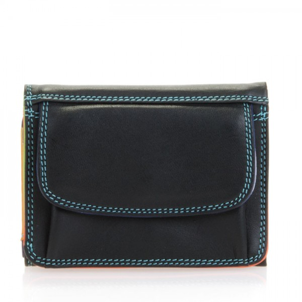 Mini Tri-fold Wallet Black Pace