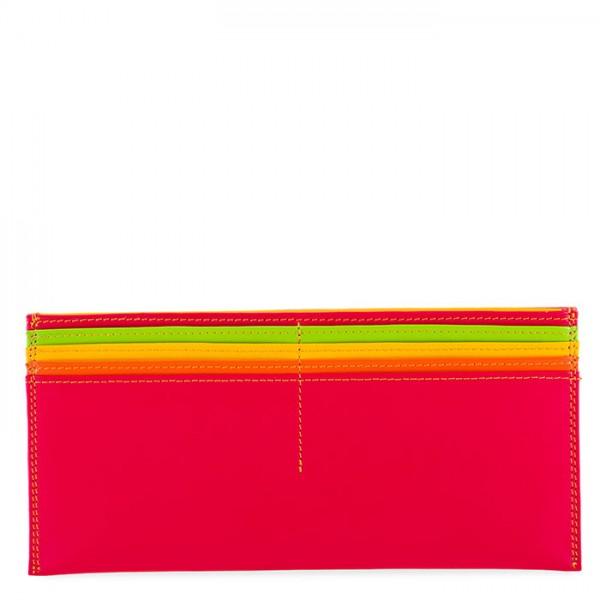 Tarjetero grande con billetera de cuero Jamaica