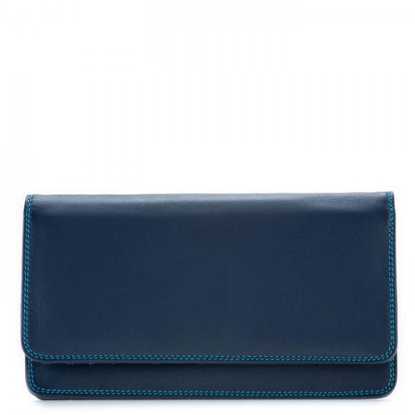 RFID Medium Matinee Wallet Navy
