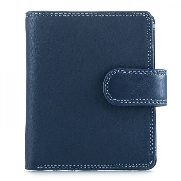 Tri-fold Tab Wallet Royal