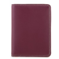 Credit Card Holder w/Plastic Inserts Chianti