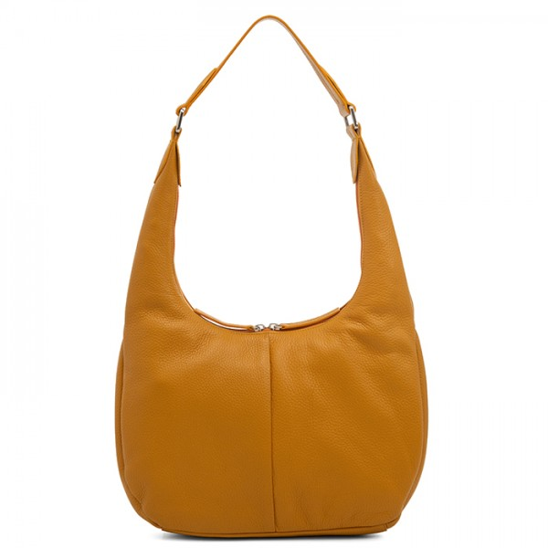 Bergamo Medium Shoulder Bag Yellow
